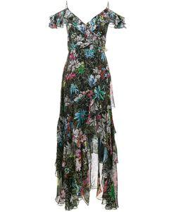 Peter Pilotto | Платье Из Рукавов С Оборками И Цветочным Принтом
