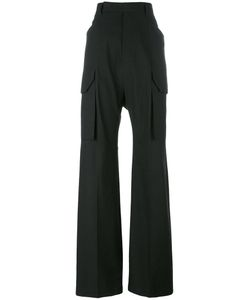 Rick Owens | High-Waisted Trousers 44