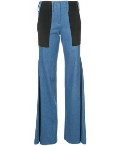 HELLESSY | Patchwork Flared Jeans Women 2