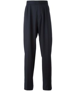 Raf Simons | Wide-Legged Pleated Trousers 50 Cotton/Virgin Wool