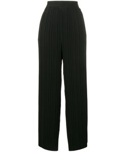 Helmut Lang | Pleated Wide Leg Trousers