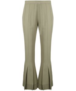 Marco De Vincenzo | Flared Cropped Trousers Size