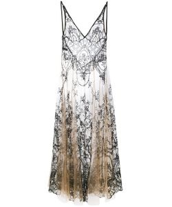 I.D.Sarrieri | Embroidery Sheer Nightgown