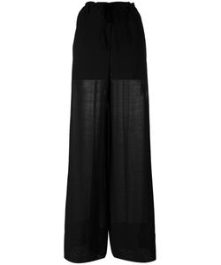 Ann Demeulemeester | Paper Bag Wide Leg Trousers Size 36