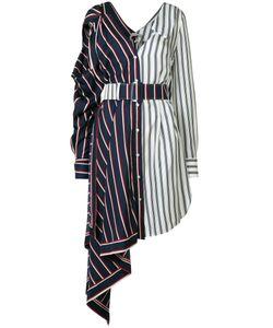 Monse | Striped Asymmetrical Dress Size 0