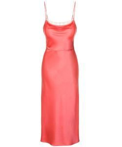 Jason Wu | Crepe Back Satin Trompe Loeil Cami Slip Dress