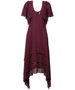 Derek Lam | Асимметричное Полупрозрачное Платье