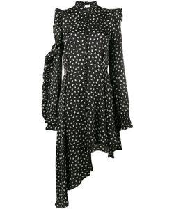 Magda Butrym | Print Ruffle Asymmetric Dress Size 38