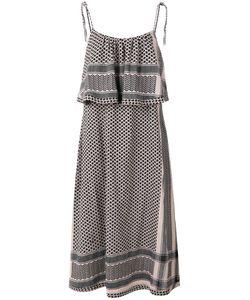 CECILIE COPENHAGEN | Ruffled Midi Dress Size