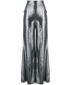 Wanda Nylon | High Waisted Palazzo Pants Women