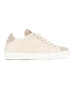 Leather Crown | Lace Sneakers Size 38