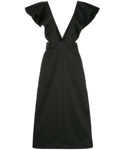 Irene | Ruffled Flared Dress Women