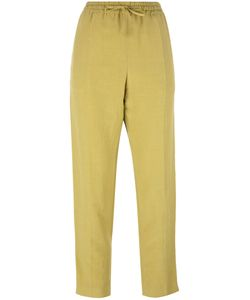 Joseph | Louna Trousers 36 Silk/Cotton/Linen/Flax