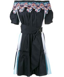 Peter Pilotto | Off-Shoulder Embroidered Dress