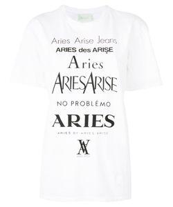 Aries | Logo Print T-Shirt 2