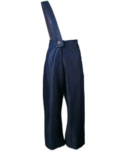 Vivienne Westwood Red Label | Cropped Shoulder-Strap Trousers
