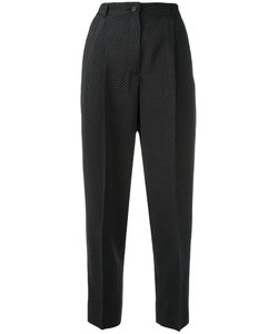Dolce & Gabbana | Micro Dots Trousers 42 Virgin