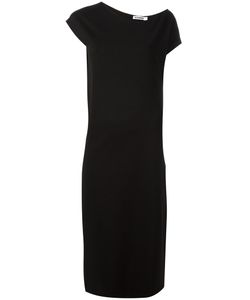 Jil Sander | Asymmetric Midi Dress 38 Viscose/Polyamide/Spandex/Elastane/Viscose