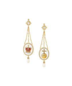 Axenoff Jewellery | Crown Sovereigns Orb Drop Earrings Women
