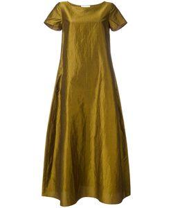 Max Mara | A-Line Midi Dress 42 Silk/Linen/Flax/Viscose