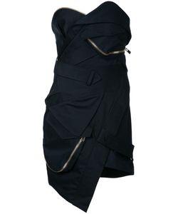 Alexandre Vauthier | Короткое Платье-Бюстье