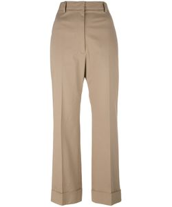 Jil Sander | Cropped Tailo Trousers 38 Cotton/Spandex/Elastane