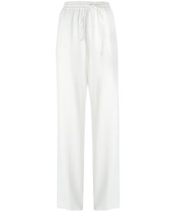 Jil Sander | Drawstring Trousers 36 Acetate/Viscose/Cotton