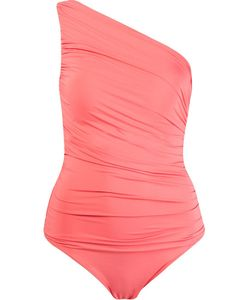 Brigitte | One Shoulder Draped Swimsuit