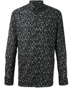 Lanvin | Рубашка С Принтом Следов От Обуви