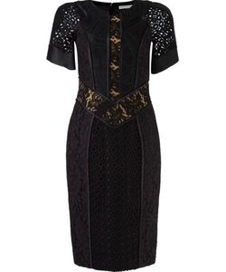 MARTHA MEDEIROS | Lace Patchwork Dress