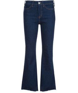 Mih Jeans   Укороченные Расклешенные Джинсы Lou