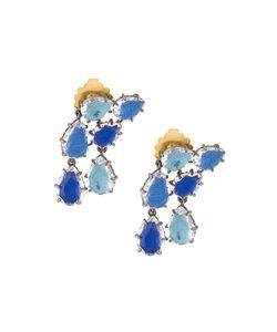 Larkspur & Hawk | Caterina Double Cascade Earrings