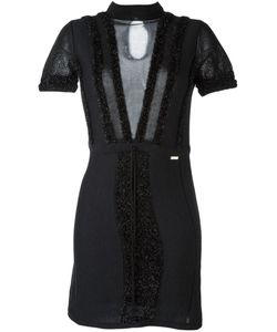 Just Cavalli | Sheer Panel Dress
