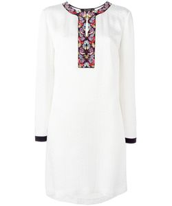 Etro | Платье С Вышивкой На Горловине