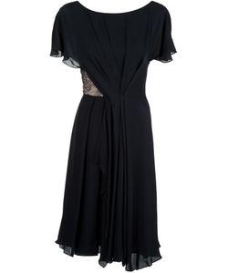 Jason Wu | Расклешенное Платье С Кружевной Вставкой