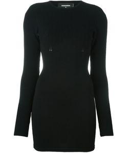 Dsquared2 | Вязаное Облегающее Платье