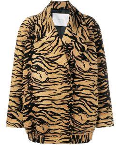 Adam Lippes   Куртка С Тигровым Принтом