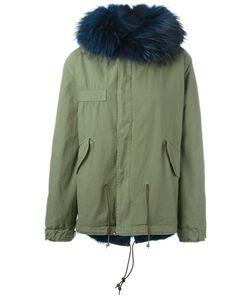 MR & MRS Italy | Куртка С Отделкой Из Меха Енота И Койота