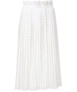 TARO HORIUCHI | Pleated Midi Skirt