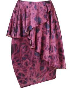 FERNANDA YAMAMOTO | Asymmetric Printed Skirt