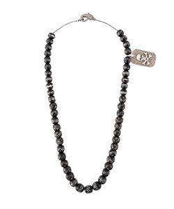 LOREE RODKIN | Beaded Diamond Charm Necklace