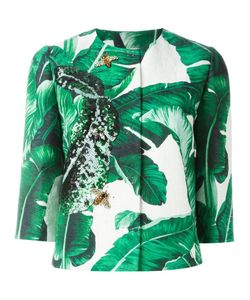 Dolce & Gabbana | Banana Leaf Brocade Jacket