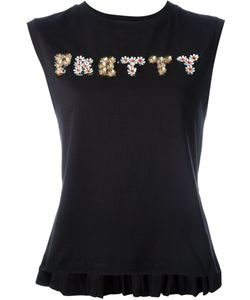 Markus Lupfer | Pretty Embellished Tank Top