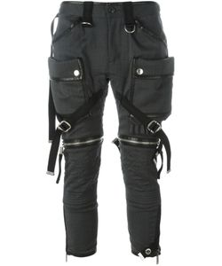 Dsquared2 | Strap Detail Biker Trousers