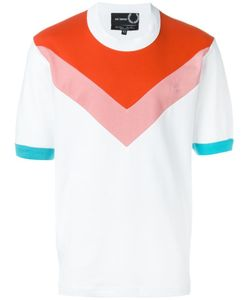 Raf Simons X Fred Perry | Colour Block Abstract Print T-Shirt