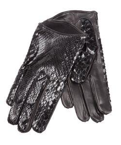 Imoni | Snakeskin Print Gloves