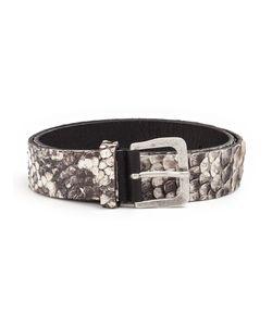 SCUNZANI IVO | Python Skin Belt