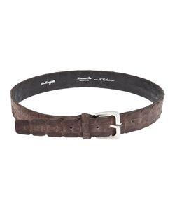 SCUNZANI IVO | Crocodile Leather Belt