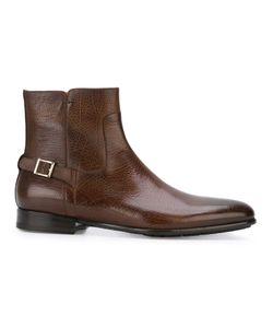 Santoni | Ботинки С Ремешком На Пряжке