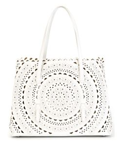 OUTSOURCE IMAGES | Laser-Cut Tote Bag